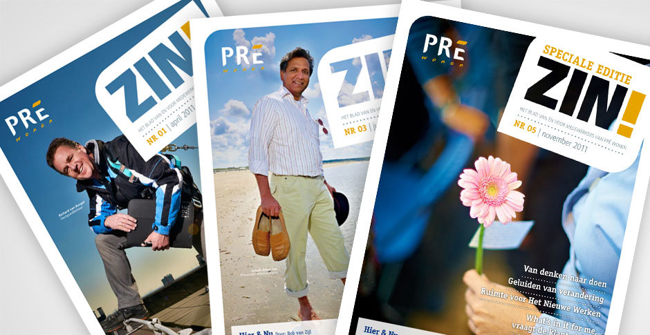Pré Wonen interne magazine ZIN!