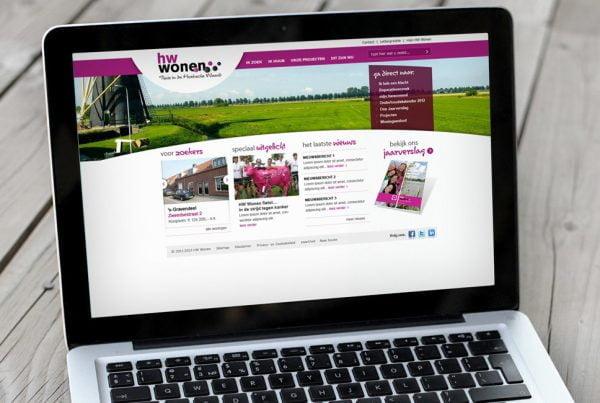 HW Wonen webdesign